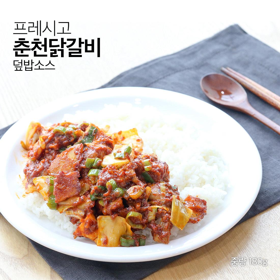 춘천닭갈비 덮밥소스 4팩