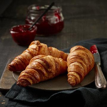 프랑스 브리도 미니크로아상 25gx25개/냉동생지/빵