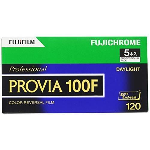 FUJIFILM Fujichrome Provia 100F Professional RDP-III Color Transparency Film (120 Roll Film/9519148