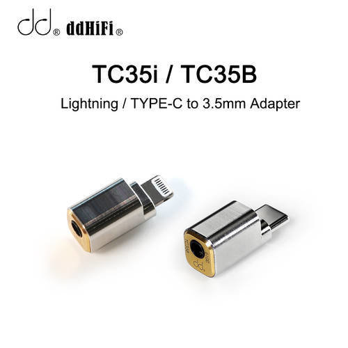 dd ddHiFi TC35i / TC35B Lightning / TYPE-C-3.5mm 케이블 어댑터, iPhone 11 iPad i:TC35i TC35B/~