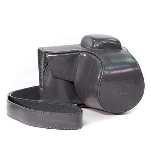 [해외]MegaGear Ever Ready Protective Leather Camera Case, Bag for Samsung NX3000 with 20-50mm Lens/55767