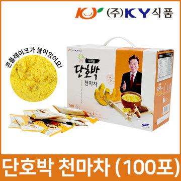 KY식품 콘플레이크 단호박천마차 100T - 아침식사대용
