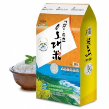 [할인가 27,900원](강원)[고성농협쌀] 2020년산 고성속초오대미 쌀 10kg