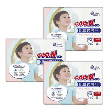 군 플러스 기저귀 팬티 점보형(XXL) 28매x3팩 84매
