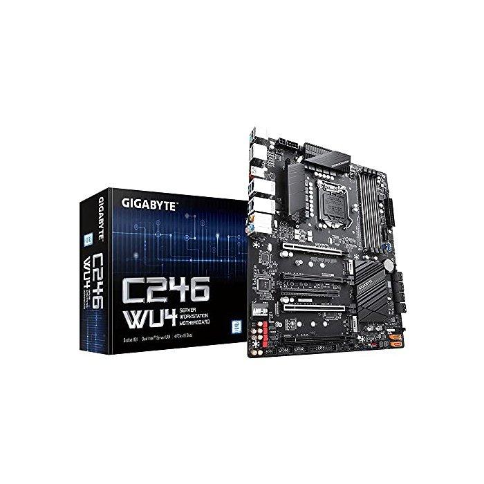 [해외]인텔 메인보드 메인보드 M30 기가바이트 C246WU4 (Intel C246 Express Chipset/ATX/DDR4/Du