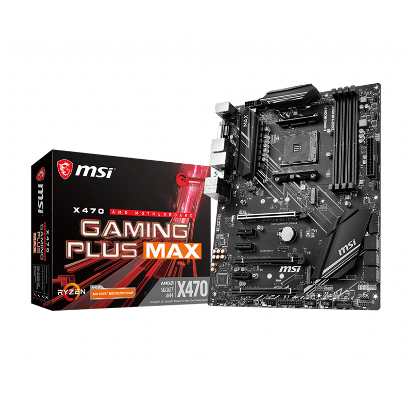 MSI MPG X470 게이밍 플러스 맥스 해외 배송비무료