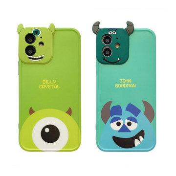 아이폰12 mini 11 pro max xs se2 8 몬스터 캐릭터 입체 카메라보호 케이스