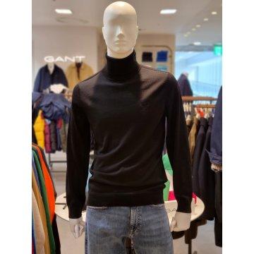 워셔블 메리노 터틀넥 스웨터 DG72020098BK