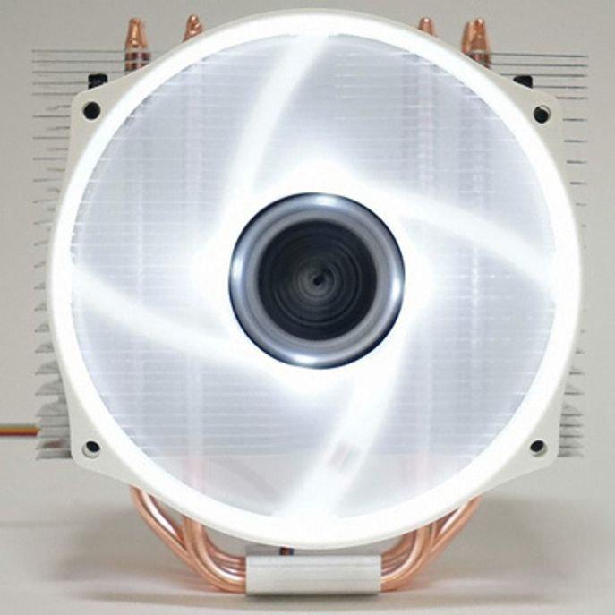 써모랩 CPU쿨러 TRINITY 6.0 WHITE LED 저소음