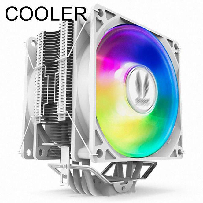 CPU쿨러 튜닝 Socoool RC500 RGB SNOW
