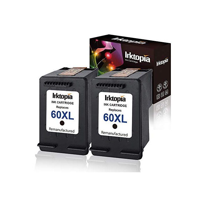 [해외]Photosmart C4680 D110 Deskjet F2430 F4210 프린터용 HP 60XL 60 XL 대용량 D8J61BN CC641WN CC644