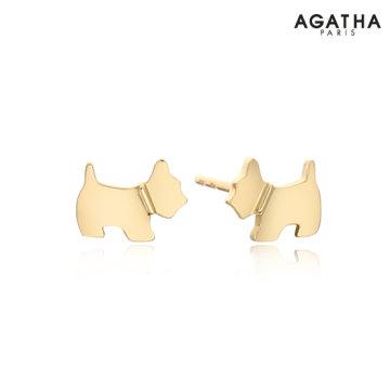 14K Petite Scottie 귀걸이 (2381411S_157)