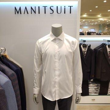 20 S/S 슬림&포멀 이지케어 세미와이드 화이트 드레스셔츠(MAFA70-201-301)
