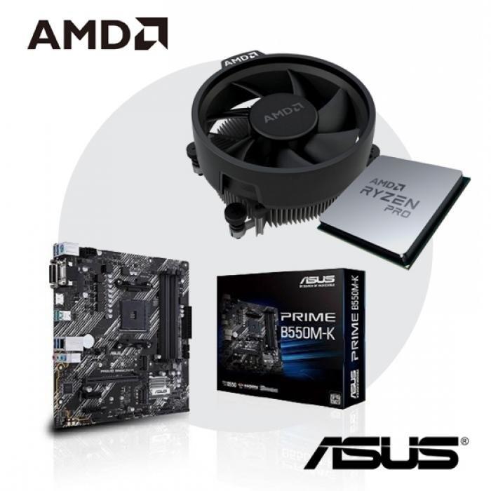 [AMD] 라이젠7 PRO 르누아르 4750G [멀티팩] + ASUS PRIME B550M-K