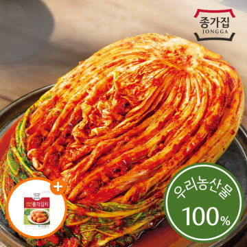 [본사직송] 종가집 행복이온 전라도 포기김치 10kg
