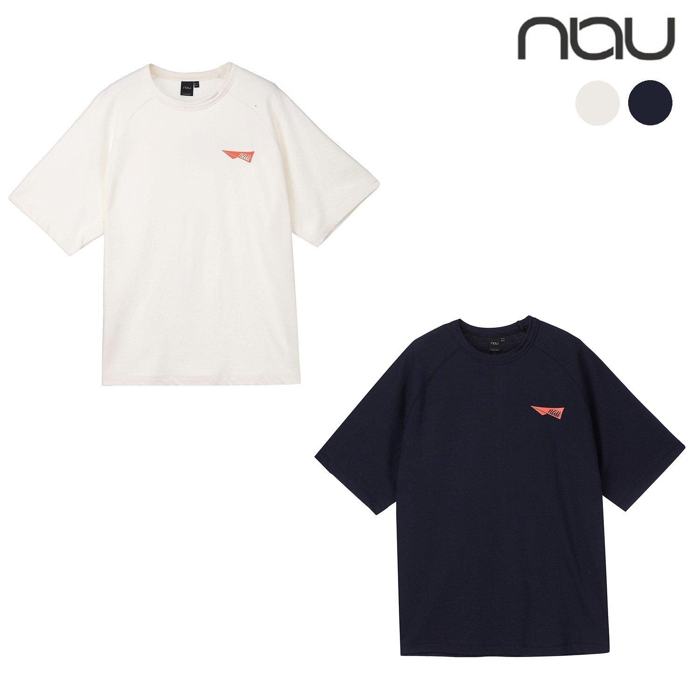 [롯데백화점] 나우아웃도어 NAU 컬러타프로고 반팔티셔츠 1NUTSM1020
