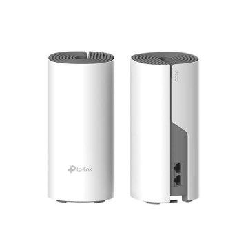 Deco E4(2팩) 27+평 아파트추천 WiFi 데드존 킬러 메시 와이파이공유기