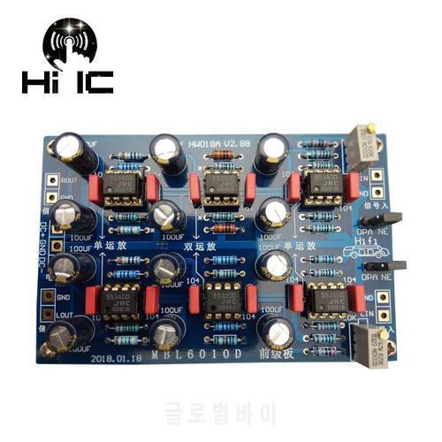 [해외]MBL6010D Pre-amplifier 보드 프리앰프 톤 보드 리모컨 볼륨 Pre-signal 버퍼 앰프 보