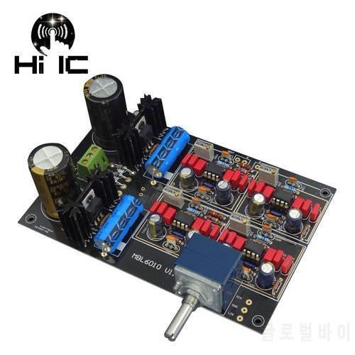 [해외]레퍼런스 MBL6010D 프리앰프 프리앰프 Pre-amplifier 보드 파워 서플라이 통합 보
