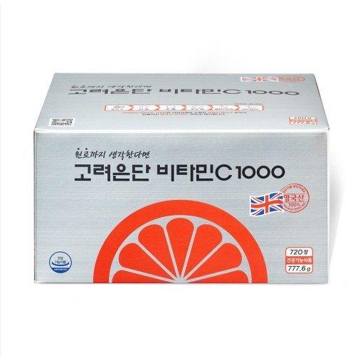 고려은단 비타민C 1000 1080mg x 720정