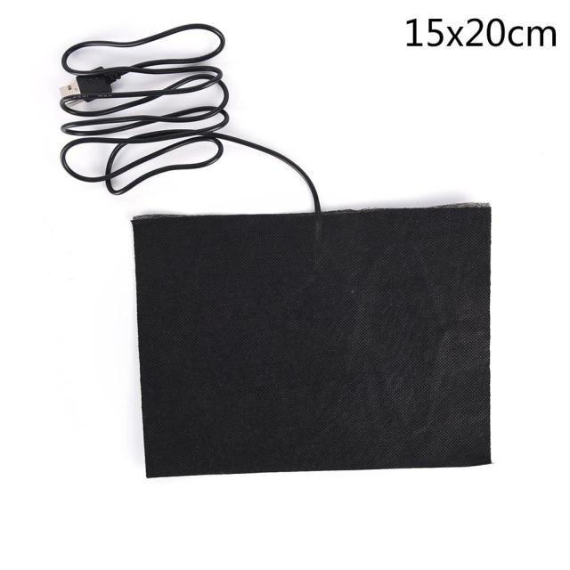 [해외]전기방석 가정용 USB 난방 방석 겨울 전열 발열 다용도 쇼파 의자 히팅